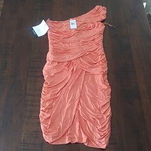 Michael Kors dress new orange formal size 10